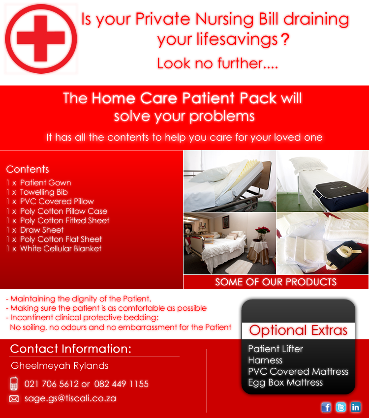 The Homecare Patient Pack